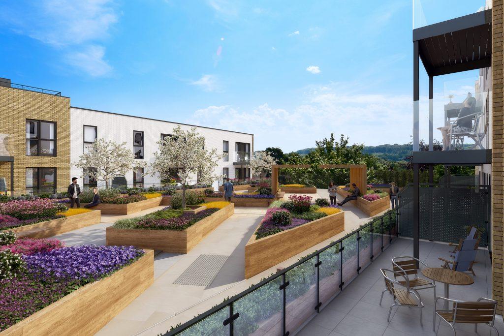 Bishops Weald Paperyard Roof Terrace Horsham Berkeley Homes