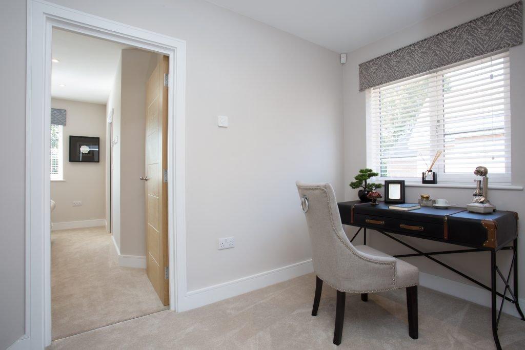 Study at East Moseley Pavilion Park development for Langham Homes