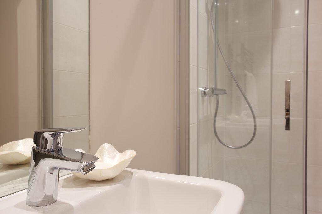 Bathroom East Moseley Pavilion Park development for Langham Homes