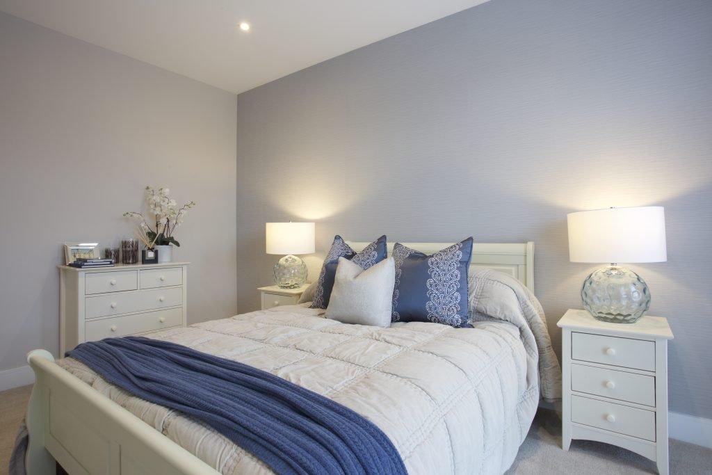 Bedroom at The Exchange, Langham Homes, New Malden development